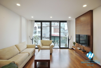 Beautiful  and good quality 2-bedrooms  apartment on Xuan Dieu street, Tay Ho